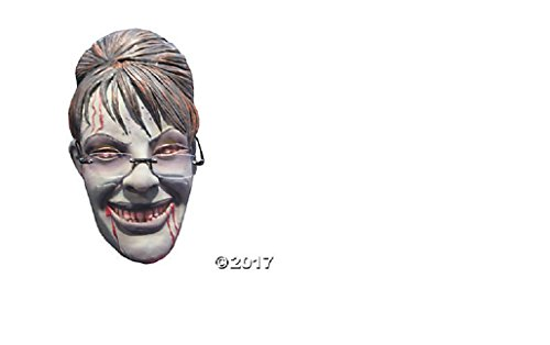 Baoer Sarah Palin Rogue Zombie Mask Adult Accessory