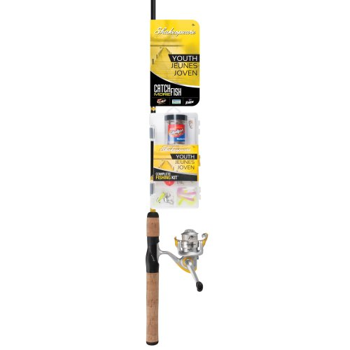 Shakespeare Catch More Fish Spinning Fishing Combo