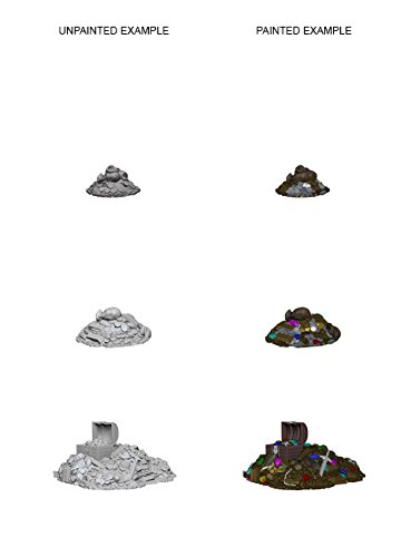 (Wizkids Unpainted Miniatures - Treasure Piles)