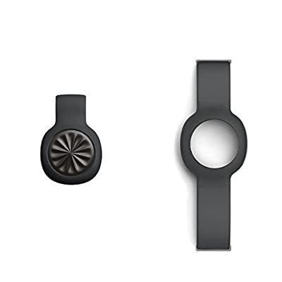 Jawbone UP Move Onyx Activity Tracker with Onyx Thick Strap Bundle
