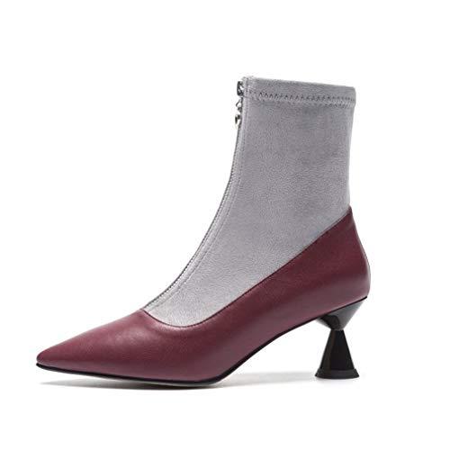Forma Un Primavera Yan Alto Calzini Moda Stivaletti Scarpe Stiletto xHnHATg