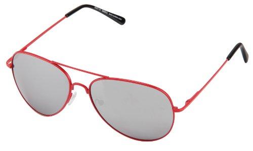 différentes de couleurs aviateur à modèle Rouge Miroir avec ressort Lunettes Argenté soleil charnière 4027 vawxSB1d