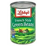 Libby French Style Green Beans - no. 10 can, 6 cans per case