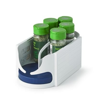Small Rotating Roto-Caddy - for Storing Herb Or Spice Jars