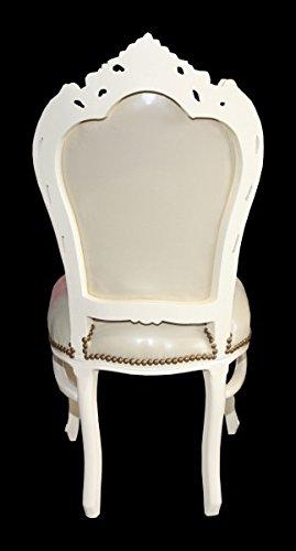 Casa Padrino Barock Esszimmer Stuhl Stuhl Esszimmer Creme Gold
