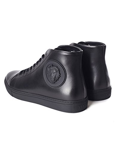Logo Versus Hi-top Sneaker Uomini Neri Nero