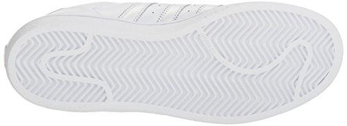 adidas Grey M Sneaker Originals Superstar 5 8 US White Women's qAnPrvwxA