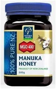 Manuka Health - MGO 400+ Manuka Honey, 100% Pure New Zealand Honey, 1.1 lbs