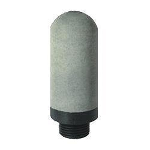 MettleAir SPE-08 Pneumatic Muffler Silencer Filter, Plastic, 1'' NPT (Pack of 10) by MettleAir