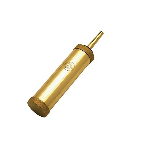 Blackpowder Products 30 Grain Spout Range Model CVA Cylinder Flask - Black Powder Horn Flask