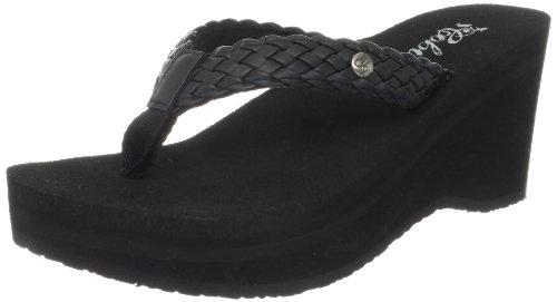 Cobian Women's Zoe Flip-Flop, Black, 5 M US
