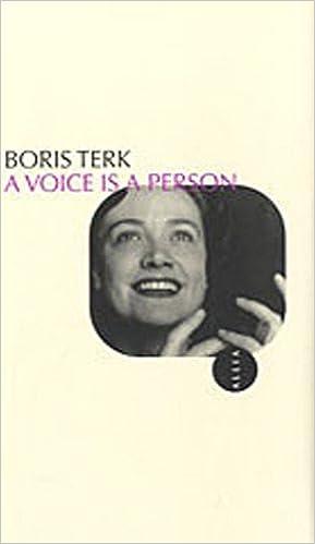 Téléchargement A voice is a person pdf