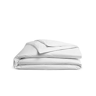 Brooklinen Luxe Sateen Duvet Cover - 480 Thread Ct, 100% Long Staple Cotton - Oeko-TEX Certified - King