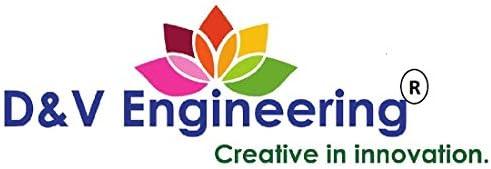 D&V ENGINEERING - Creative in innovation Iron Rack, 1-Tier, Black