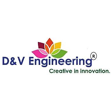 D&V ENGINEERING Safe & Sturdy Coconut Scraper/Grater,Matte Black 12