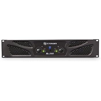 Crown Power Amplifier Amazon : crown power amplifier xli2500 musical instruments ~ Vivirlamusica.com Haus und Dekorationen