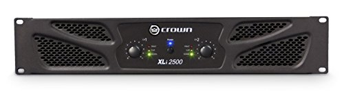 (Crown XLi2500 Two-channel, 750W at 4Ω Power Amplifier)