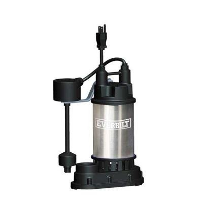 Everbilt 1/2 HP Submersible Sump Pump (Stainless Steel Sump Pump)