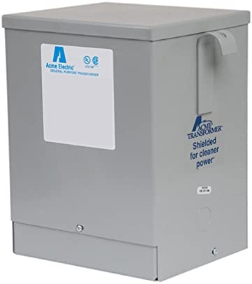240 T-2-53014-4s SE Dry Type Transformer 5kva 1ph for sale online Acme 5 KVA 240 X 480 to 120