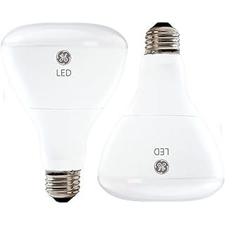 GE Lighting 22726 LED 10-Watt (65-Watt Replacement), 700-Lumen R30 Floodlight with Medium Base, Daylight, 2-Pack