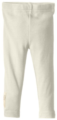 (L'ovedbaby Baby-Girls Newborn Organic Leggings,Beige,12/18)