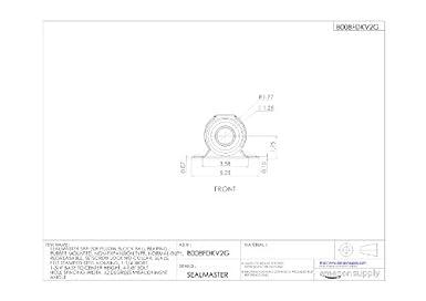 Amazon.com: sealmaster srp-20r Pillow Block Rodamientos de ...