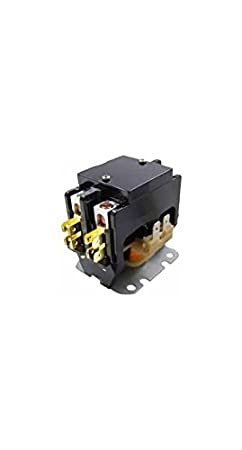 amazon com supco dp30242 contactor 30a 24v 2 pole home & kitchen  dp30242 contactor 2 pole wiring #12