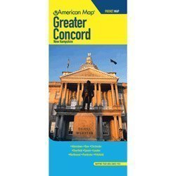Greater Concord New Hampshire Street - Map Concord Of Hampshire New