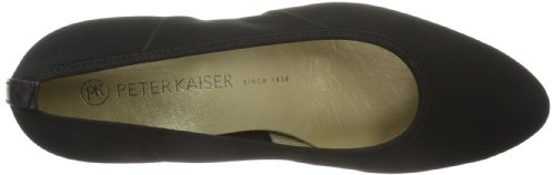 Peter Kaiser NANCY 43999 - Zapatos de tacón para mujer, color negro, talla 35 EU (2.5 Damen UK) Negro (Schwarz (SCHWARZ STRETCH CHEVRO 528 528))