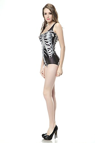 THENICE - Conjunto - para mujer Black Bones