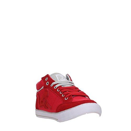 DrunknMunky Boston Classic, Zapatillas de Tenis para Hombre Red/Gray