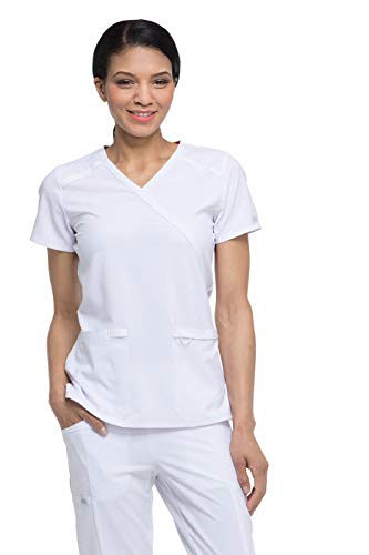 Women's EDS Essentials Mock Wrap Scrub Top
