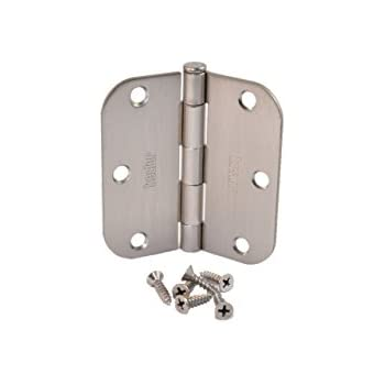 (Pack Of 50) Kesler 3 1/2 Inch Satin Nickel Door Hinges (