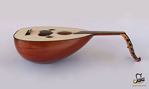 Turkish Quality Mahogany String Instrument Oud Ud AO-101MS by Sala Muzik