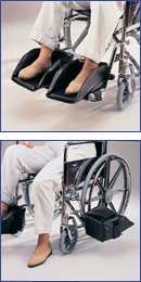 ALIMED 703475 Bariatric Swing Away Foot Support Left