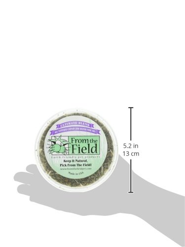 From-The-Field-Ultimate-Blend-Silver-VineCatnip-Mix-Tub-2-ozMedium