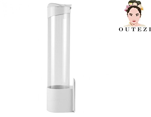 Surface Mount Cup Dispenser/ Water Cup Dispenser - White