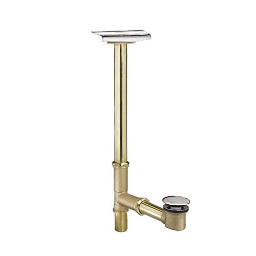 American Standard 1599.205.002 Deep Soak Max Drain with Unique Top-Mount Overflow, Allows 3-Inch Deeper Water Level, Polished Chrome