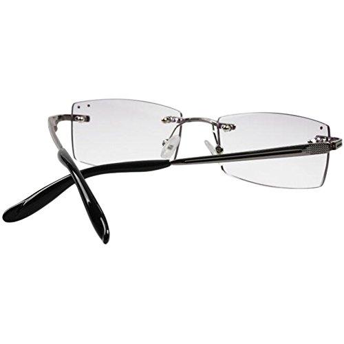 3 1 Femme Rimless 2 5 Beau Lentille Violet 0 5 Élégant Deylaying 4 5 Lunettes Métal Garniture Mode 0 lecture lunettes de 0 3 1 0 Cadre Résine 2 I6wYwxB