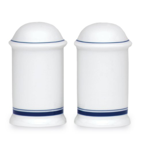 Dansk Christianshavn Blue Salt and Pepper Shakers - Microwave Safe Porcelain Salt And Pepper Set