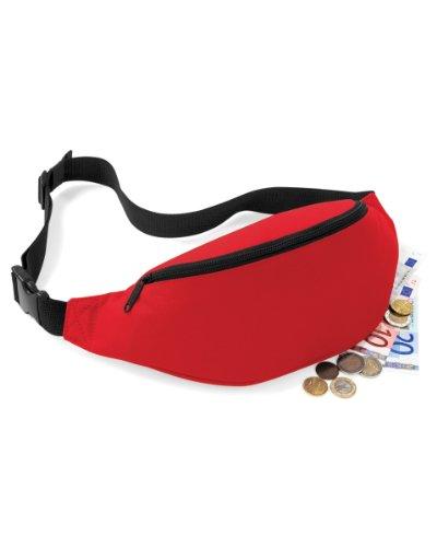Bagbase Adjustable Belt Bag (2.5 Liters) (One Size) (Classic (Athletic Classic Belt)