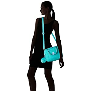 Kipling MIYO School Bag, 25 cm, 8 liters, Blue (Deep Aqua C)