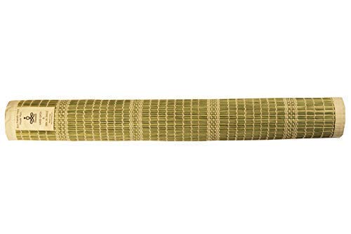 100/% Natural Handmade Mat for Meditation /& Fitness Spiritual Grass YAAZH Hand Loomed Eco Friendly DHYANA Darbha Grass Meditation Mat -Kusha Grass