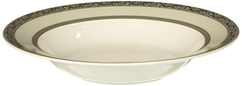 Mikasa Italian Countryside Platinum Rim Soup Bowl ()