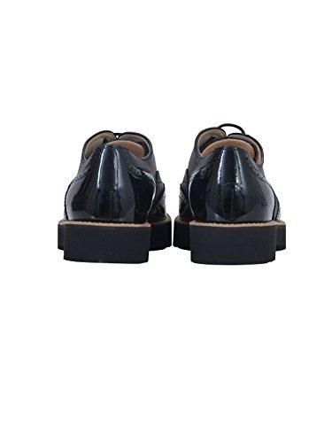 Hogan Mujer HXW2590R320DYQB999 Negro Cuero Zapatos De Cordones