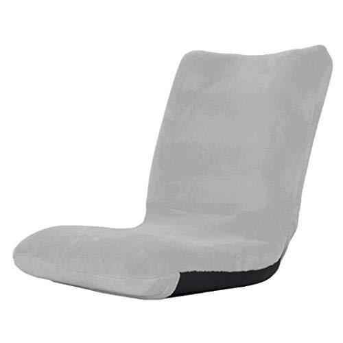 怠惰なソファ畳折りたたみシングルベッドのミニチェアドミトリー出窓ウィンドウシンプルソファー折りたたみ式 B07STYFZZ5 Gray