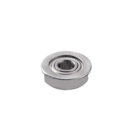 10Pcs Roulement Micro Imprimante 3D Micro Roulement En Acier Inoxydable F623Zz Bride Roulements /À Billes Avec Bord Pour Imprimante 3D