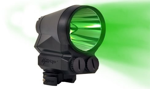 Lightforce Performance Lighting PRED9X-RED with intense green LED, Black PRED9X-GREEN