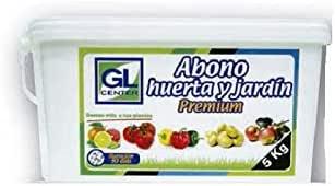 GL CENTER Abono Huerta y jardín liberacion controlada Premium 5 Kg: Amazon.es: Jardín