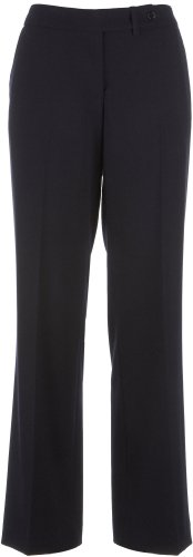 Calvin Klein Women's Classic-Fit Suit Pant, Black, 16